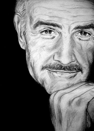 Sean Connery by bashya